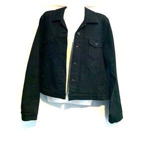 French Dressing Jeanswear Paris Black Jean Jacket
